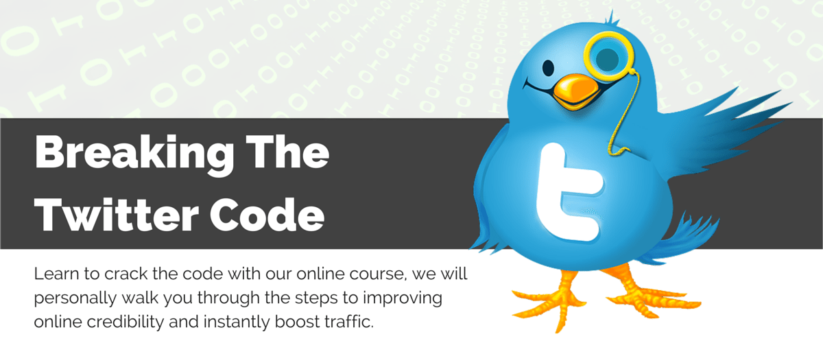 Twitter bird and course benefits