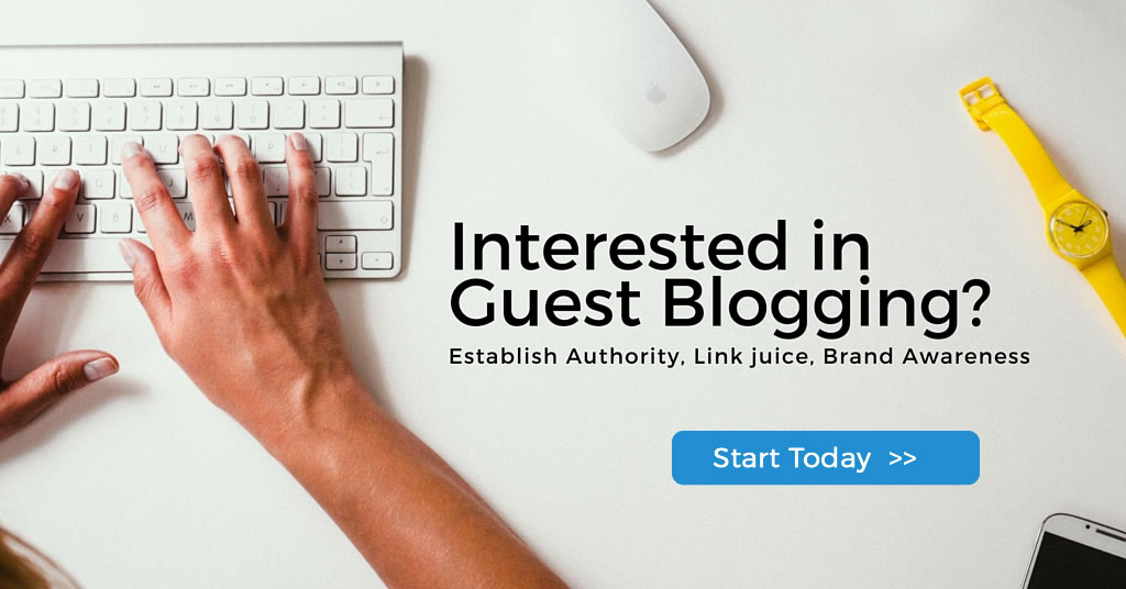Start Guest Posting Today