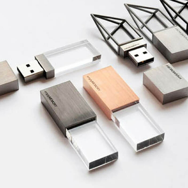 Image of high tech sleek design looking usb thumb-drives