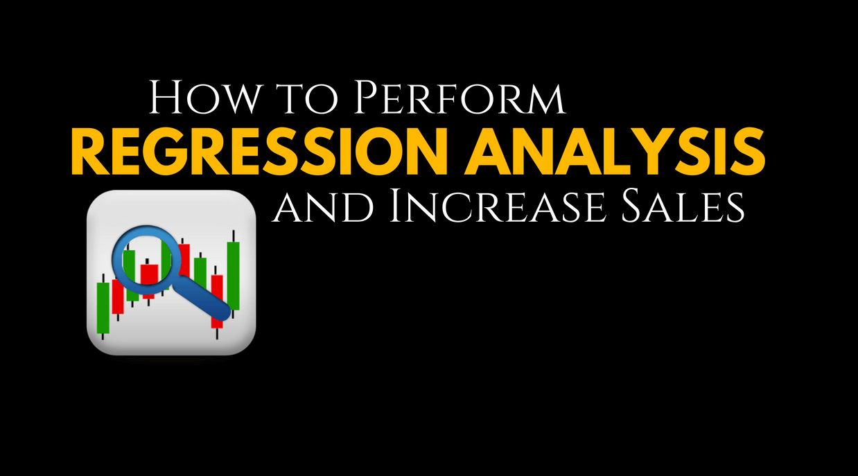 Image for Regression Analysis Increase Sales for Digital Marketing